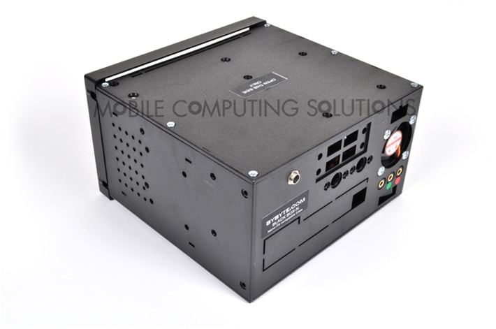 Bybyte Black Box N Nano Itx Car Pc Case Double Din