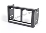 Bybyte Double DIN Frame with USB port for Lilliput EBY701 629GL Touch Screen Monitors for Mini ITX Carputer car pc systems