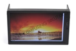 "Double DIN Multi Touch Capacitive Mini Touch 700 7"" VGA Touch Screen Monitor with auto switching auto power on 450 nit high brightness LCD panel and 800 x 480 support"