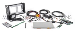 Complete Mini Touch 700 Double DIN Touch Screen  Kit