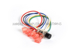 15mm Metal Locking Power Harness for Black Box Mobile Chassis