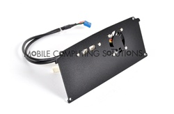 Black Box Mobile End Panel with Dual USB and 40mm Fan