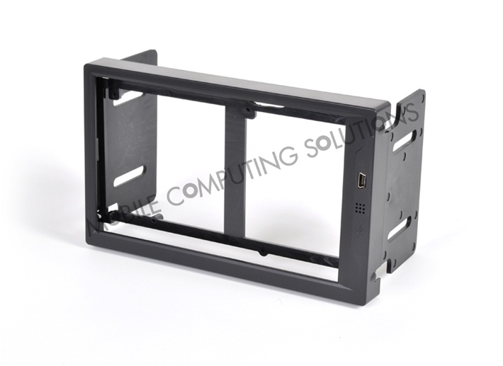 Bybyte Double DIN Frame for Lilliput EBY701 629GL Touch Screen ...