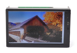 "Double DIN Lilliput 669GL-70NP/C/T 7"" Touch Screen Monitor with HDMI, DVI, VGA, and RCA Inputs"
