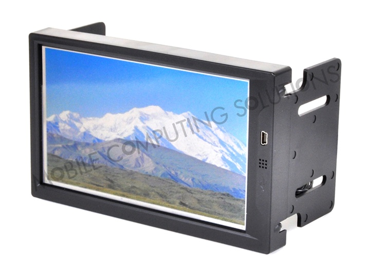 Double DIN Lilliput EBY701-NP/C/T Touch Screen Monitor with Auto Switch