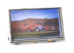 "Open Frame 7"" Lilliput  Touch Screen Monitor Kit with VGA/HDMI/DVI"