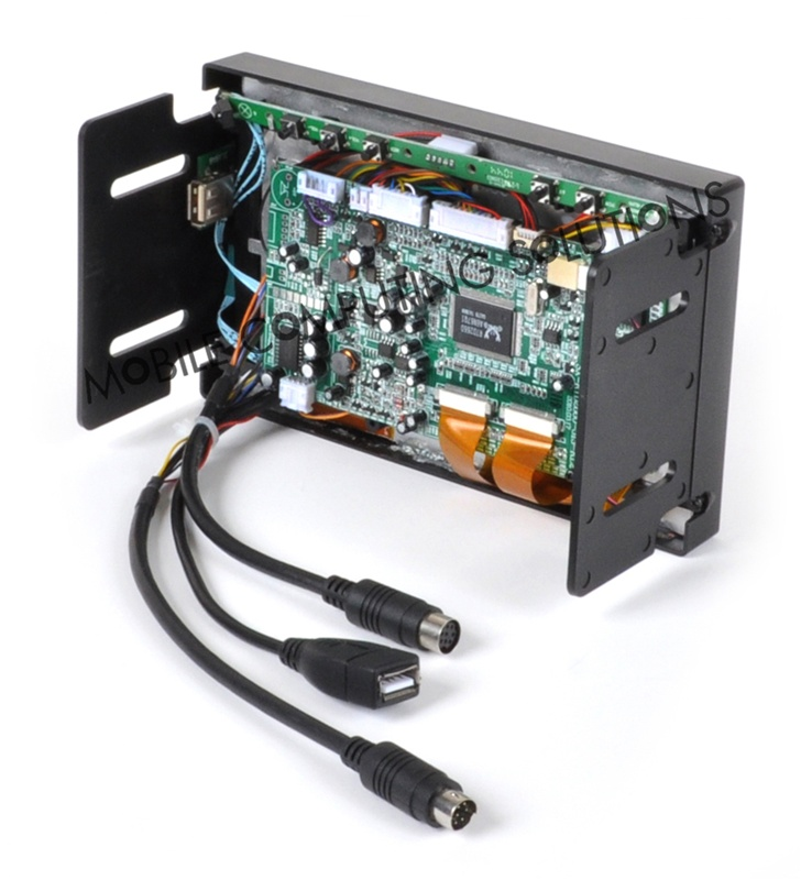 Double DIN Multi Touch Capacitive Mini 700 7 VGA Screen