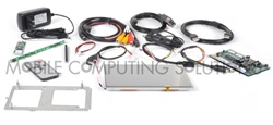Double DIN Mini Touch 700 Kit without Bybyte Frame