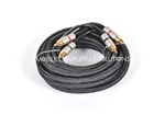 5m/17' Quadruple Shielded Gold Plated RCA Cable Monster Cables