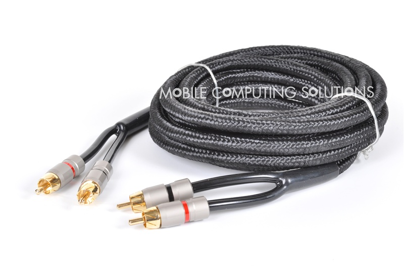5m/17\' Quadruple Shielded Gold Plated RCA Cable Monster Cables